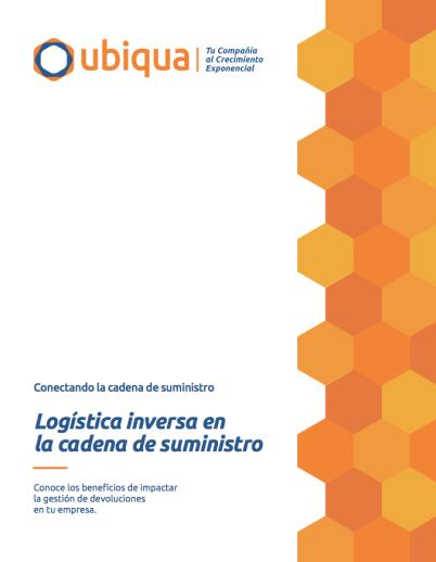 Informes Ubiqua: La logística inversa en la cadena de suministro.